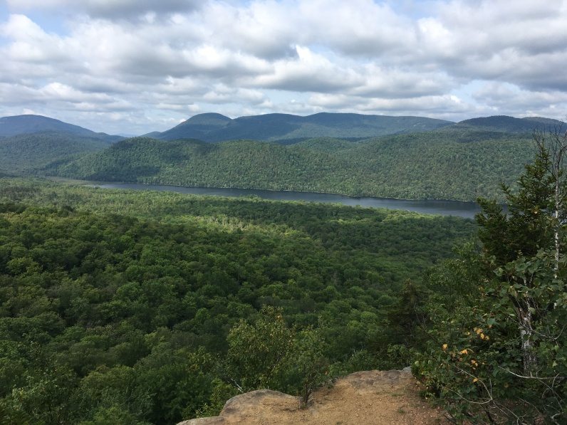 View of Thirteenth Lake from Balm of Gilead summit