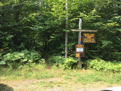 Old Farm Rd trailhead